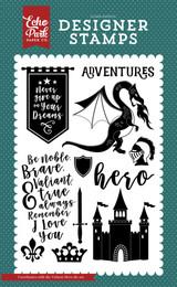Valiant Hero 4x6 Stamp