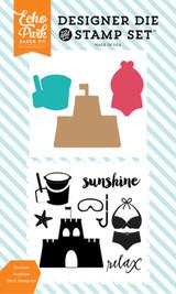 Summer Sunshine Die/Stamp Set