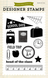 School Days 4x6 Stamp