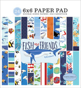 Fish Are Friends 6x6 Paper Pad