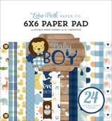 Baby Boy 6x6 Paper Pad