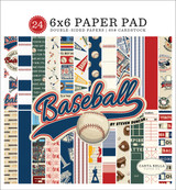 Baseball 6x6 Paper Pad
