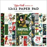 Animal Safari 12x12 Paper Pad