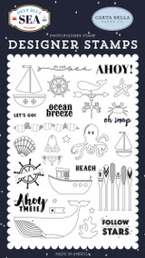 By the Sea Stamp Set