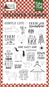 Down on the Farm Stamp Set
