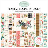 Flower Market 12x12 Paper Pad