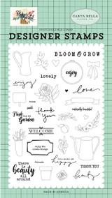 Beauty All Around Stamp Set