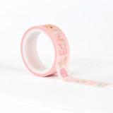 Baby Girl Alphabet Washi Tape