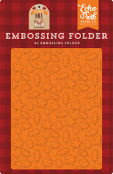 Fall is in the Air Embossing Folder