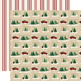 A Cozy Christmas: Tree Farm 12x12 Patterned Paper