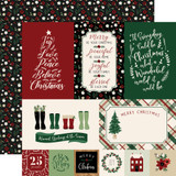 A Cozy Christmas: Journaling Cards 12x12 Patterned Paper