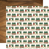 A Cozy Christmas: Warm Wishes 12x12 Patterned Paper