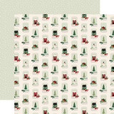 A Cozy Christmas: Snow Globes 12x12 Patterned Paper