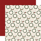 A Cozy Christmas: Christmas Cheer 12x12 Patterned Paper