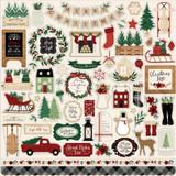 A Cozy Christmas: Element Sticker Sheet
