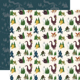 Adventure Awaits: Creatures of the Woods 12x12 Patterned Paper