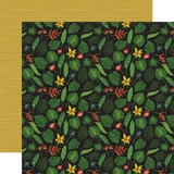 Animal Safari: Tropical Leaves 12x12 Patterned Paper