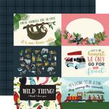Animal Safari: 4x6 Journaling Cards 12x12 Patterned Paper