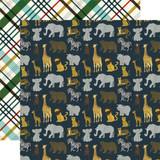 Animal Safari: Safari 12x12 Patterned Paper