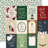 Away in a Manger: 3x4 Journaling Cards 12x12 Patterned Paper