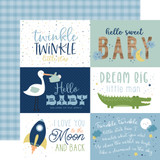 Baby Boy: 6X4 Journaling Cards 12x12 Patterned Paper