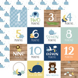 Baby Boy: Milestone Cards 12x12 Patterned Paper