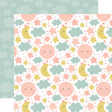 Baby Girl: Dream Big 12x12 Patterned Paper