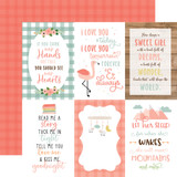 Baby Girl: 4X6 Journaling Cards 12x12 Patterned Paper