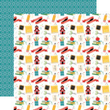 Back to School: School House Fun 12x12 Patterned Paper