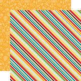 Back to School: School Stripes 12x12 Patterned Paper