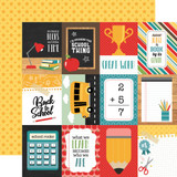 Back to School: 3x4 Journaling Cards 12x12 Patterned Paper
