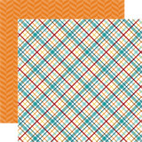Bark: Puppy Plaid 12x12 Patterned Paper