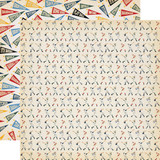 Baseball: Batter Up 12x12 Patterned Paper