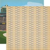Baseball: Hey Batter Batter 12x12 Patterned Paper