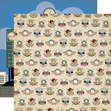 Baseball: All Star Player 12x12 Patterned Paper