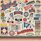 Baseball: Element Sticker Sheet