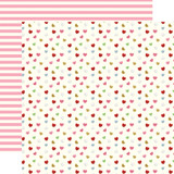 Be My Valentine: Candy Hearts 12x12 Patterned Paper