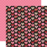 Be My Valentine: Box of Chocolates 12x12 Patterned Paper
