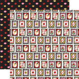 Be My Valentine: Love Stamps 12x12 Patterned Paper