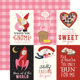 Be My Valentine: 4x6 Journaling Cards 12x12 Patterned Paper
