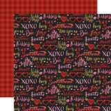 Be My Valentine: Be Mine 12x12 Patterned Paper