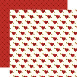 Be My Valentine: Sweethearts 12x12 Patterned Paper