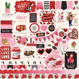 Be My Valentine: Element Sticker Sheet