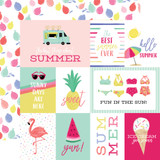 Best Summer Ever: Journaling Cards 12x12 Patterned Paper