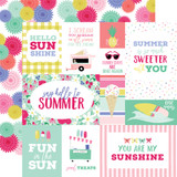 Best Summer Ever: Multi Journaling Cards 12x12 Patterned Paper