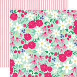 Best Summer Ever: Sunshine Floral 12x12 Patterned Paper