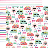 Best Summer Ever: Food Trucks 12x12 Patterned Paper