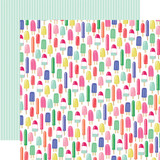 Best Summer Ever: Sweet Treats 12x12 Patterned Paper