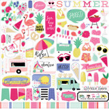 Best Summer Ever: Element Sticker Sheet