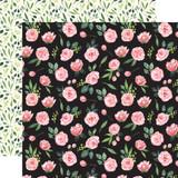 Botanical Garden: Sweet Pea Garland 12x12 Patterned Paper